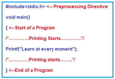 Sample C Program