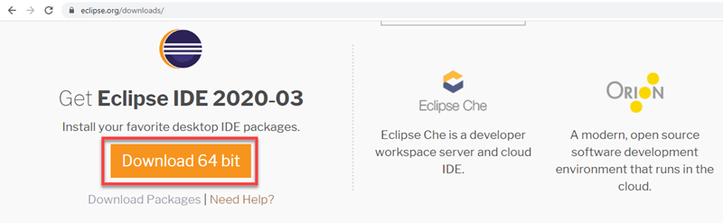 Download and Install Eclipse to Run Java