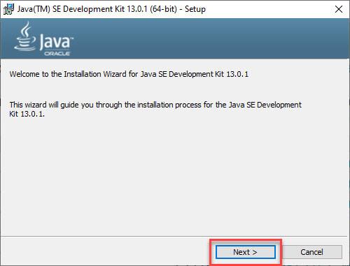 Environment Setup for Java