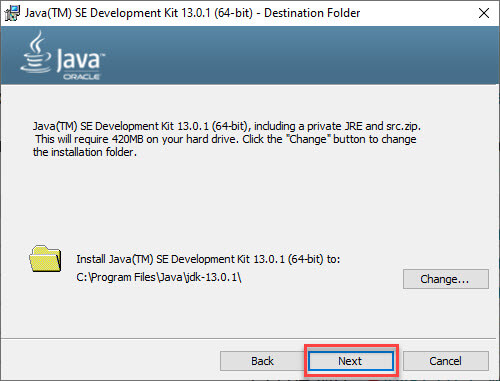 Environment Setup for Java Application Development