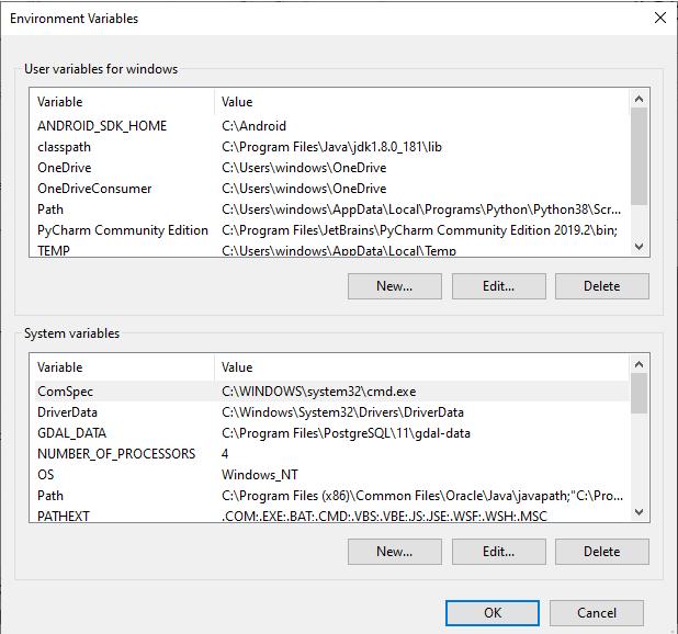 Java Application Environment Setup for Development
