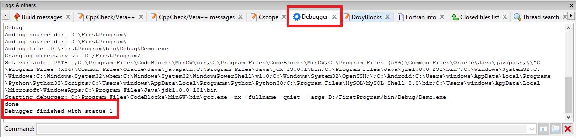 How to Debug the program?