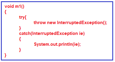 Difference Between Throw and Throws keywords in java