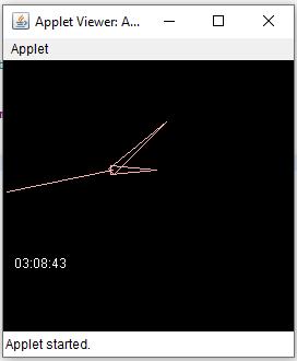 Sample Program : Display Analog Clock in Applet