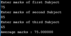 Array Example in C