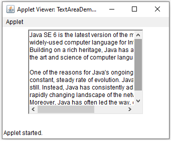 AWT Controls in Java